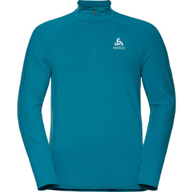 Odlo Zeroweight Ceramiwarm Midlayer 1/2 Zip Men tumultuous sea